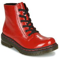 Pantofi Femei Ghete Rieker 76240-33 Roșu