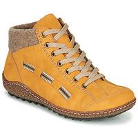 Pantofi Femei Ghete Rieker L7543-69 Galben