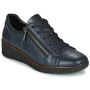 Pantofi Femei Pantofi sport Casual Rieker 53702-14 Albastru