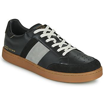 Pantofi Bărbați Pantofi sport Casual Serafini WIMBLEDON Negru / Gri