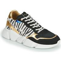 Pantofi Femei Pantofi sport Casual Serafini OREGON Negru / Alb / Auriu