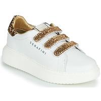 Pantofi Femei Pantofi sport Casual Serafini J.CONNORS Alb / Auriu