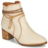 Pantofi Femei Botine Pikolinos CALAFAT W1Z Bej / Maro