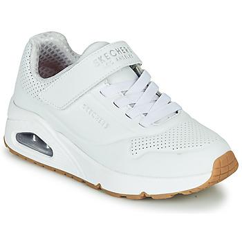Pantofi Copii Pantofi sport Casual Skechers UNO Alb