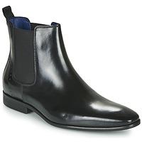 Pantofi Bărbați Ghete Azzaro JAGER Negru
