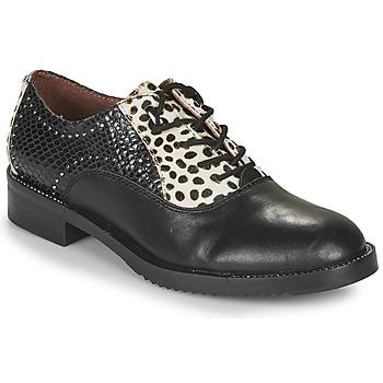 Pantofi Femei Pantofi Derby Café Noir JEREL Negru / Alb