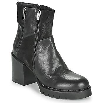 Pantofi Femei Botine Café Noir JOEL Negru