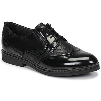 Pantofi Femei Pantofi Derby Tamaris KELA Negru