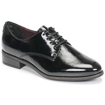 Pantofi Femei Pantofi Derby Tamaris JEANY Negru