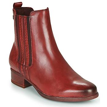 Pantofi Femei Botine Tamaris MARLY Bordo