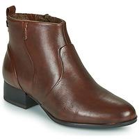 Pantofi Femei Botine Tamaris YAMILA Maro