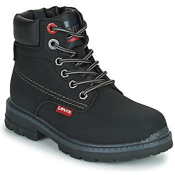 Pantofi Copii Ghete Levi's NEW FORREST Negru