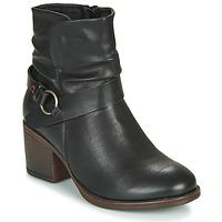 Pantofi Femei Botine Emmshu FLEUR Negru
