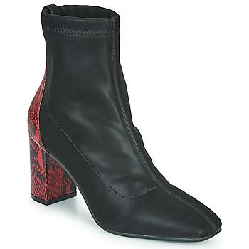 Pantofi Femei Botine Gioseppo EGELN Negru / Roșu