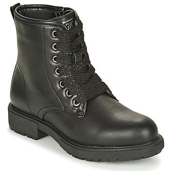 Pantofi Fete Ghete Gioseppo YELETS Negru
