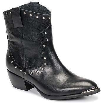 Pantofi Femei Cizme casual Ikks BOTTES Negru