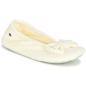 Pantofi Femei Papuci de casă Isotoner 95991 Alb fildeș