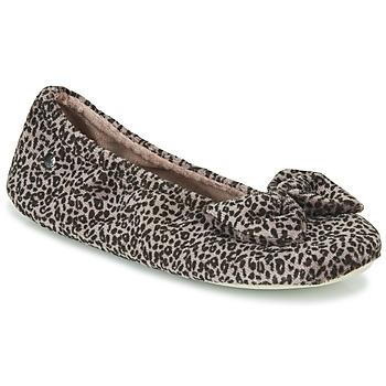 Pantofi Femei Papuci de casă Isotoner 97209 Leopard
