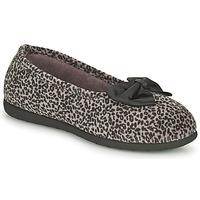 Pantofi Femei Papuci de casă Isotoner 97261 Leopard