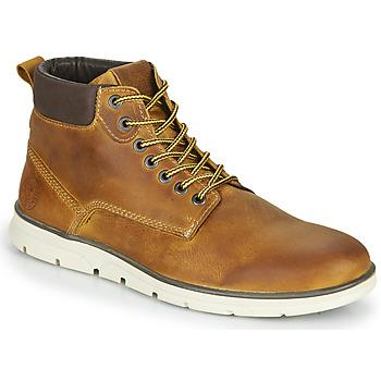 Pantofi Bărbați Ghete Jack & Jones JFW TUBAR LEATHER Maro