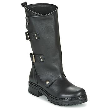 Pantofi Femei Cizme casual Musse & Cloud MARVIN Negru