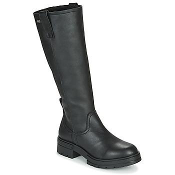 Pantofi Femei Cizme casual Musse & Cloud GEORGETE Negru