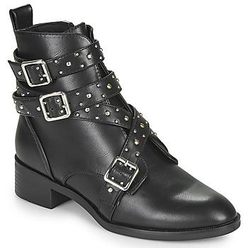 Pantofi Femei Ghete Only BRIGHT 14 PU STUD BOOT Negru