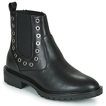 Pantofi Femei Ghete Only ONLTINA 3 PU BOOT Negru