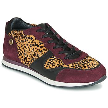 Pantofi Femei Pantofi sport Casual Pataugas IDOL/I F4E Bordo / Leopard