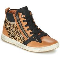 Pantofi Femei Pantofi sport stil gheata Pataugas JULIA/PO F4F Coniac / Leopard