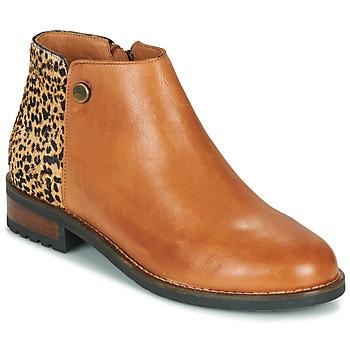 Pantofi Femei Ghete Pataugas MEGAN/PO F4F Camel