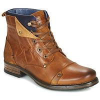 Pantofi Băieți Ghete Redskins YEDES CADET Coniac
