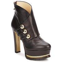 Pantofi Femei Botine Moschino MA2104 Dark / Brown