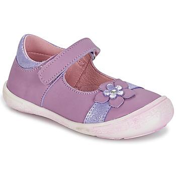 Pantofi Fete Balerin și Balerini cu curea Citrouille et Compagnie RETUNE Violet