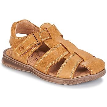 Pantofi Băieți Sandale  Citrouille et Compagnie MELTOUNE Camel
