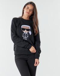 Îmbracaminte Femei Hanorace  Karl Lagerfeld IKONIK KARL SWEATSHIRT Negru