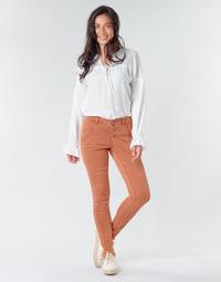 Îmbracaminte Femei Pantalon 5 buzunare Cream HOLLY CR TWILL Maro