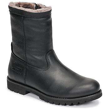 Pantofi Bărbați Ghete Panama Jack FEDRO Negru