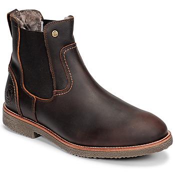 Pantofi Bărbați Ghete Panama Jack GARNOCK Maro