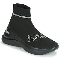 Pantofi Femei Pantofi sport stil gheata Karl Lagerfeld SKYLINE KARL RHINESTONE PULL ON BT Negru