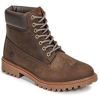 Pantofi Bărbați Ghete Lumberjack RIVER Maro