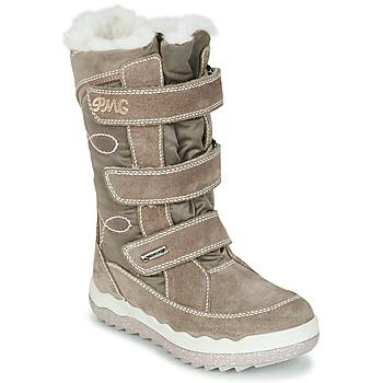 Pantofi Fete Cizme de zapadă Primigi FROZEN GTX Bej / Maro