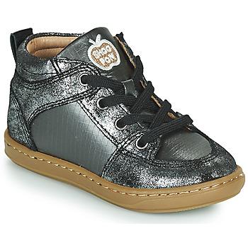 Pantofi Fete Pantofi sport stil gheata Shoo Pom BOUBA GANG Argintiu