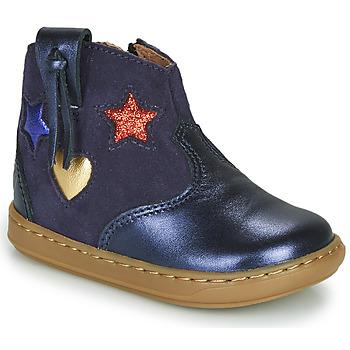 Pantofi Fete Pantofi sport stil gheata Shoo Pom BOUBA WEST Albastru