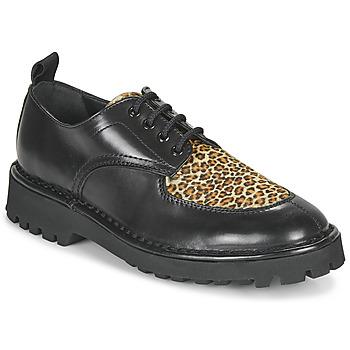 Pantofi Femei Pantofi Derby Kenzo K MOUNT Negru / Leopard