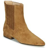 Pantofi Femei Ghete Kenzo K LINE SOFT Camel