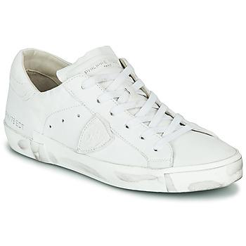 Pantofi Femei Pantofi sport Casual Philippe Model PARIS X BASIC Alb