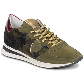 Pantofi Femei Pantofi sport Casual Philippe Model TROPEZ Camuflaj
