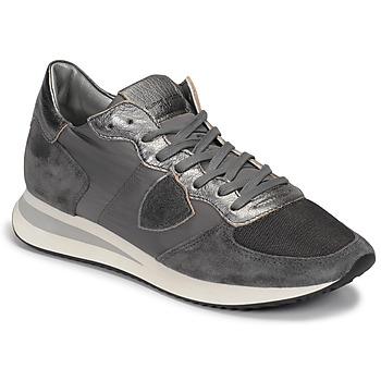 Pantofi Femei Pantofi sport Casual Philippe Model TROPEZ Gri