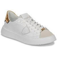 Pantofi Femei Pantofi sport Casual Philippe Model TEMPLE Alb